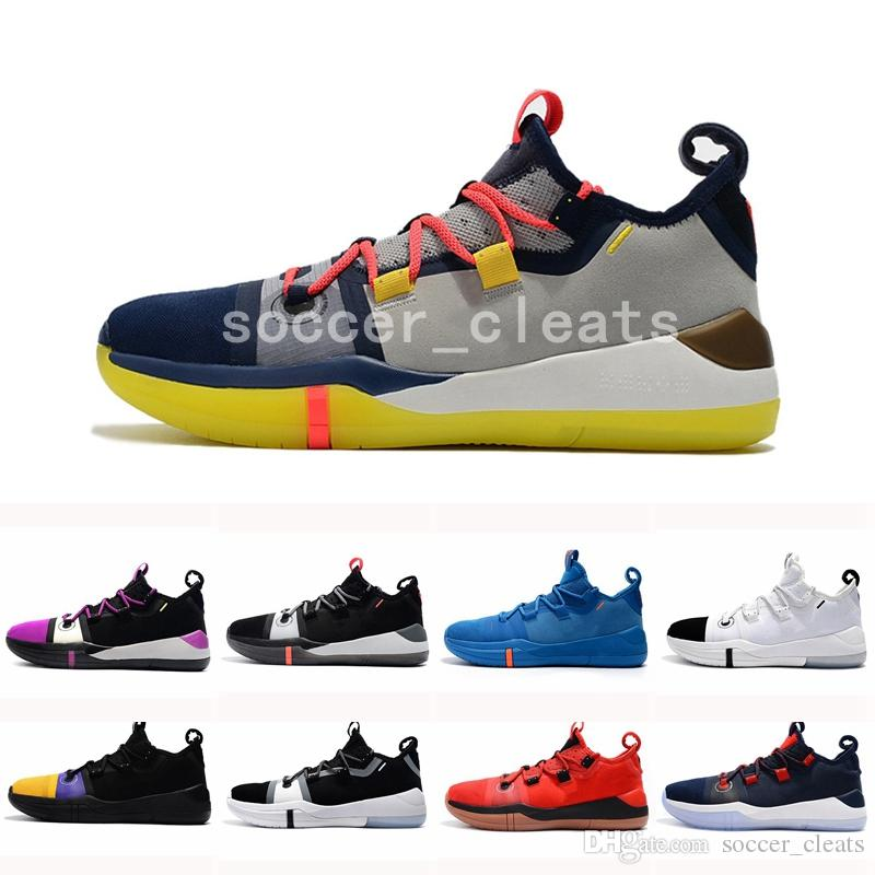 uk availability fbb7e d4fde 2019 AAA+ Quality Kobe AD EP Mamba Day Sail Multicolor Men Basketball Shoes  Wolf Grey Orange Black White Mens Trainers Sports Sneakers 40 46 From ...
