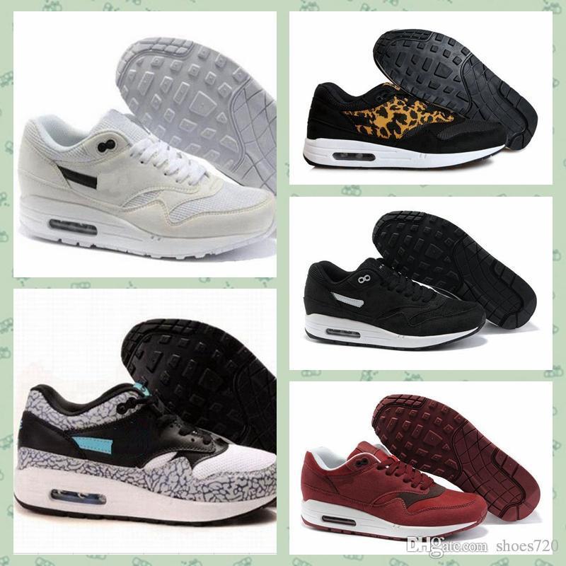 Nike air max 1 Hombres 87s 90 1 Ultra OG QS EE. UU. Camo Zapatos para correr Moda Cultura callejera Deportes al aire libre interiores Deportes de alta