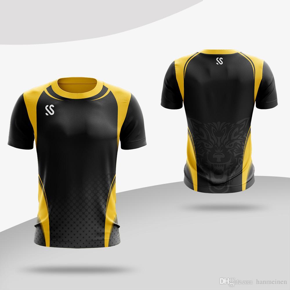 Custom Badminton Shirts Men Women Sports Fitness Running Shirt