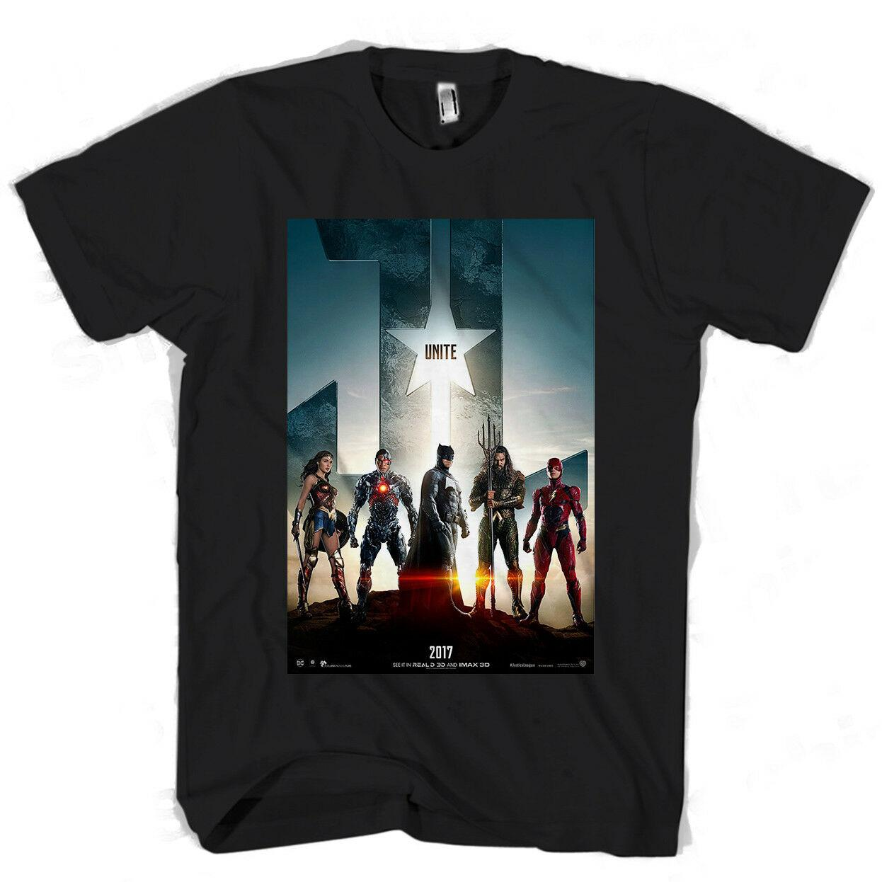 bf5bcfdf5 Justice League Style Poster Men's / Women's T Shirt Funny free shipping  Unisex Casual Tshirt top