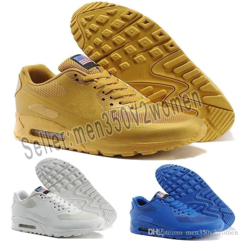 nike Hombres 87 90 1 Ultra OG QS EE. UU. Camo Zapatos para correr Moda Cultura callejera Deportes al aire libre interiores Calzado deportivo para