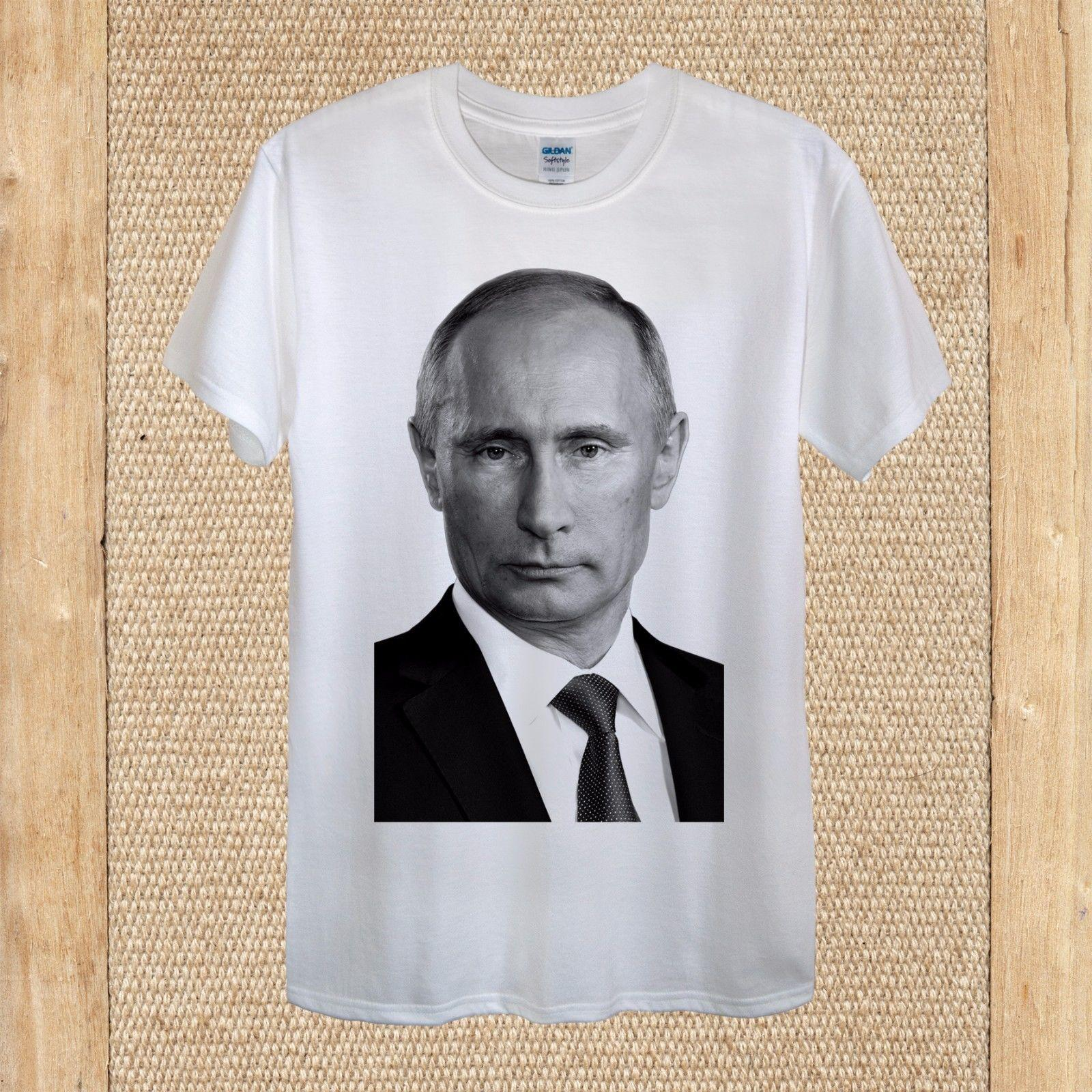 799b8a374bde Details Zu Vladimir Putin President Russia Moscow Leader Donald Trump  Unisex Women Fitted Funny Unisex Casual Tshirt Top Novelty T Shirt Funny  Printed T ...