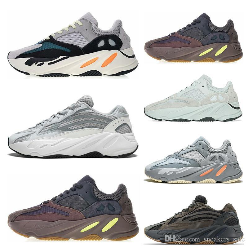 Adidas yeezy 700 shoes Neue 700 Läufer Kanye West Mauve Wave Runner Statische Laufschuhe 700 V2 Herren Damen Sportlich Sportschuhe Trainer Turnschuhe