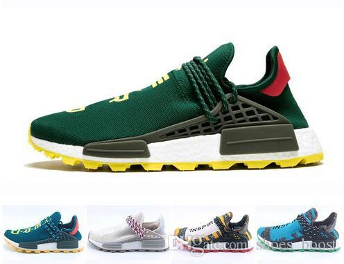 0f8badf1b55217 Cheap Sale NMD Human Race NERD Homecoming Afro Hu Solar Pack Men Running  Shoes Pharrell Williams HU Trainers Men Sport Sneaker Zapatos Shoe Sports  Shoes ...