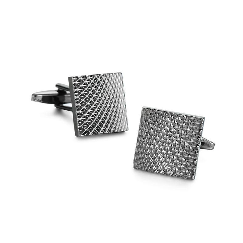 High Quality French Style Black carbon fiber Cufflinks For Mens Shirt Brand suit Cuff Buttons Top sale Cuff Links Jewelry