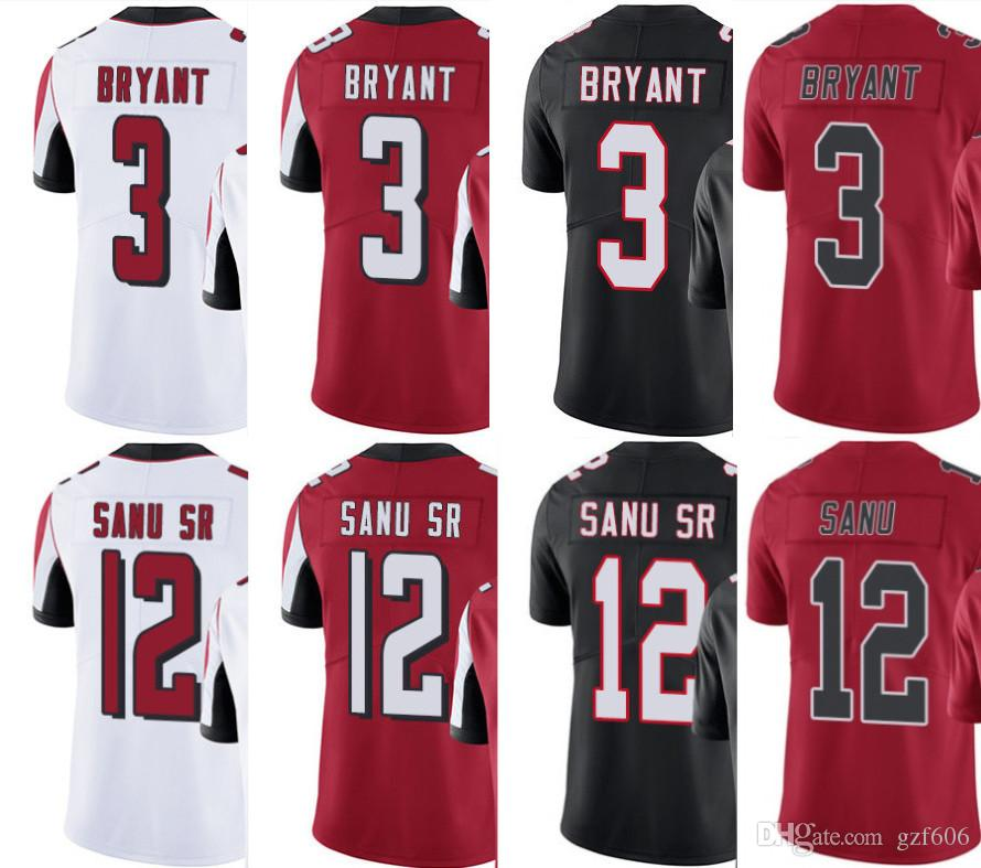Cheap 2019 Atlanta Men Women Youth Falcons Jersey #3 Matt Bryant 12