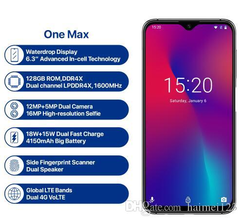 86b8e8c573a UMIDIGI One Max Global Version Octa Core 4GB 128GB 6.3 Waterdrop Full  Display Dual Cams NFC Wireless Charger Face ID Smartphone Canada 2019 From  Haimei123
