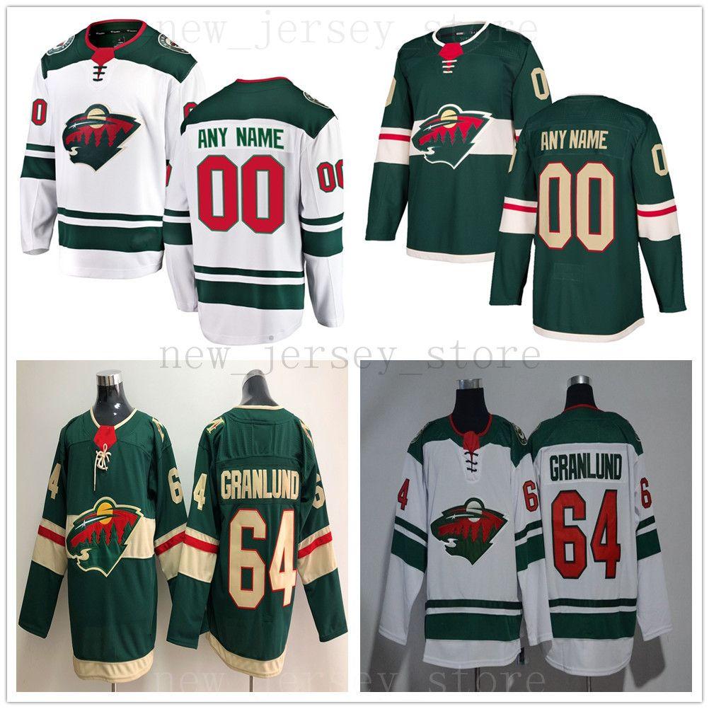 2019 Custom Minnesota Wild Hockey Jerseys Men Women Youth White Green 12  Eric Staal 16 Jason Zucker 20 Ryan Suter Devan Dubnyk Alex Stalock From ... 18e2dca69b2