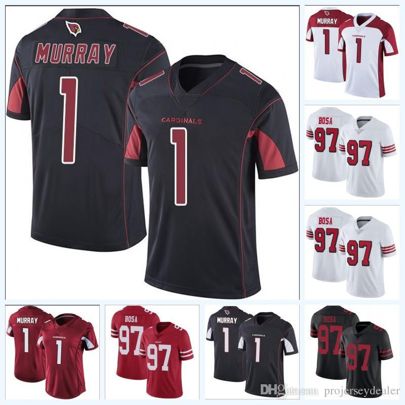 sports shoes f9cad 1315d 1 Kyler Murray Cardinals 97 Joey Bosa Chargers American Football Jersey For  Mens Womens Youth High Quailty Mix Order Free Shipping S-XXXL