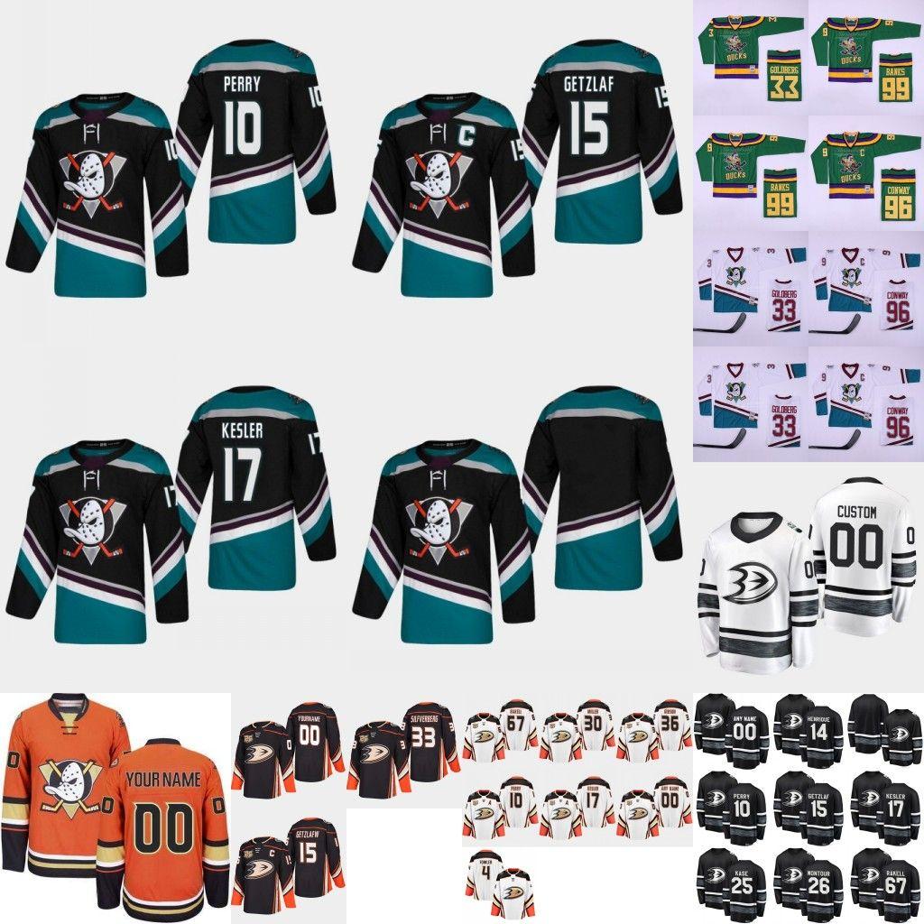 Mighty Anaheim Ducks Hockey Jersey Ryan Getzlaf Corey Perry Kesler ... f80a026d0