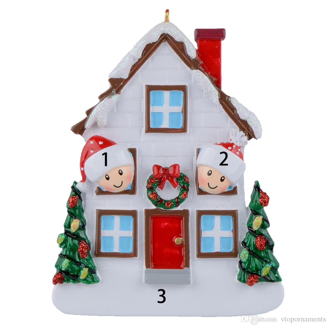 Free Personalization Wholesale Family Of 2 3 4 5 Christmas ...