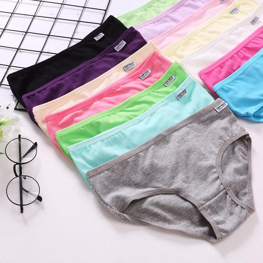 With Cheap Price Female Briefs Ladies Panties Breathable Underpants ... 4e12649db
