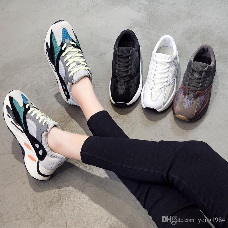 ae24b2461 Compre 2019 Maré Primavera Retro Sapatos Da Moda Esportiva Retro Das  Mulheres Sapatos Casuais Ins Over Heated Lazer Casal Grosso Solado Lace Up  Sneaker De ...