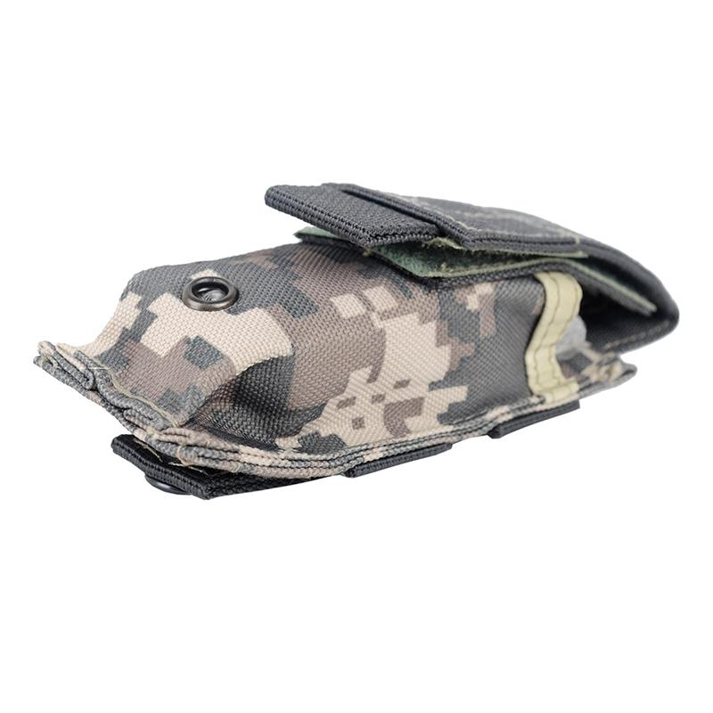 Outdoor Sundries Gag 14*6cm 600D Tactical Bag Outdoor Hiking Molle Pack Key Mini Tools Magazine Holster Pouch Sport Bag