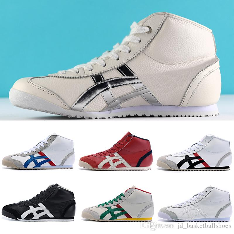 size 40 00fd5 4fc02 High Quality Onitsuka Tiger Running Shoes For Men Women Athletic Outdoor  Boots Brand Sports Mens Trainers Sneakers Designer Shoes Size 36-44