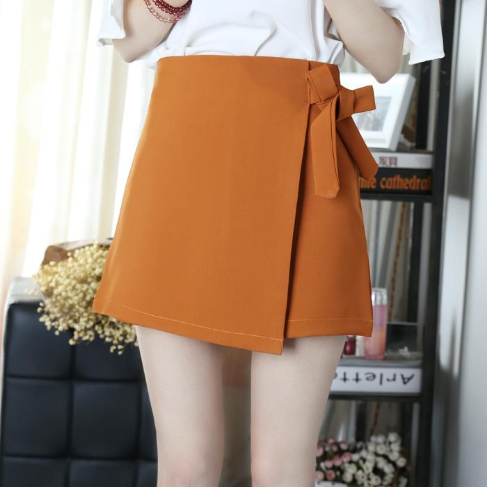 06ed208fb2278 2019 Asymmetrical Solid OL Skirt Women Summer 2019 Autumn Korean ...