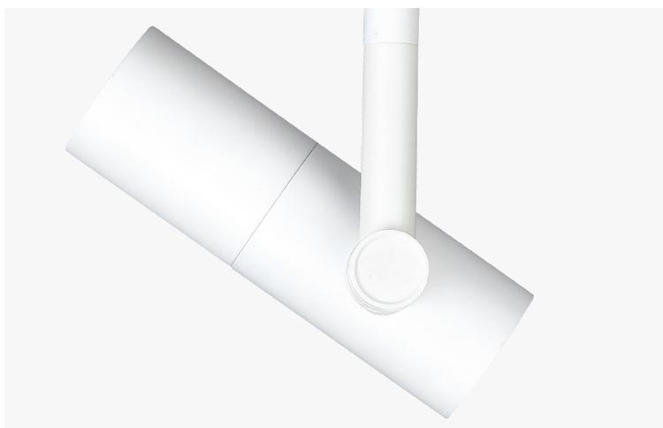 Circuito trifásico 4 hilos regulable 15W COB LED luz de pista /