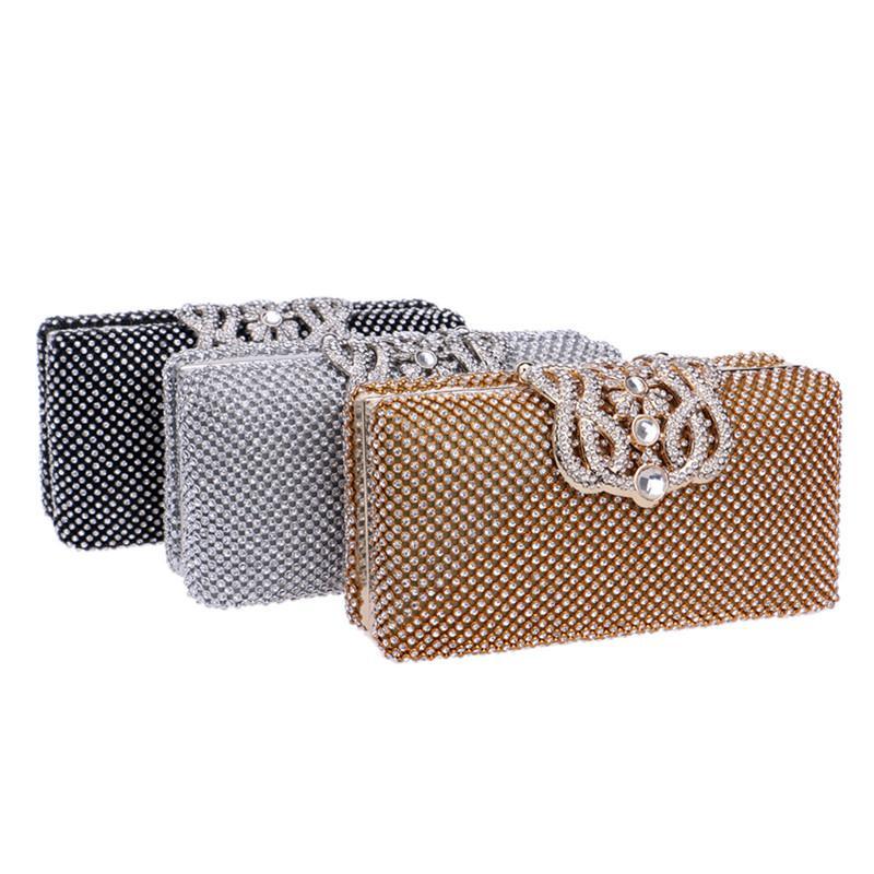 TenTop-A sacs de soirée Sac de soirée Lady Full Diamond Sac de soirée en strass de haute qualité / bourse d'embrayage / sac de mariée 515