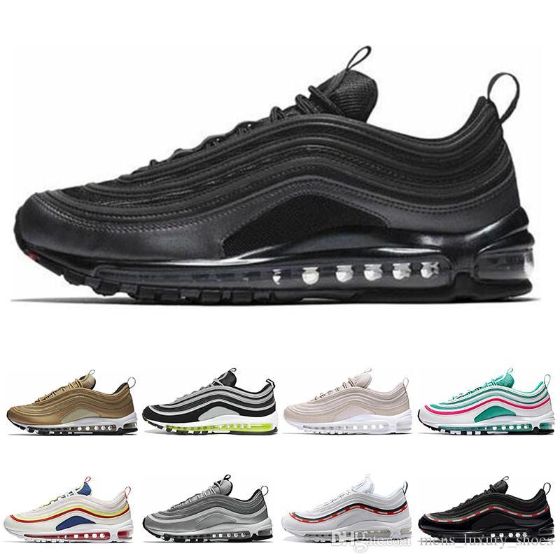 97 Femmes En Iredescent Beach Gros White Or South Chaussures Shoes De Course Métallique Balck Hommes Japon Air Max Sliver Triple Nike Bullet zpSUMV