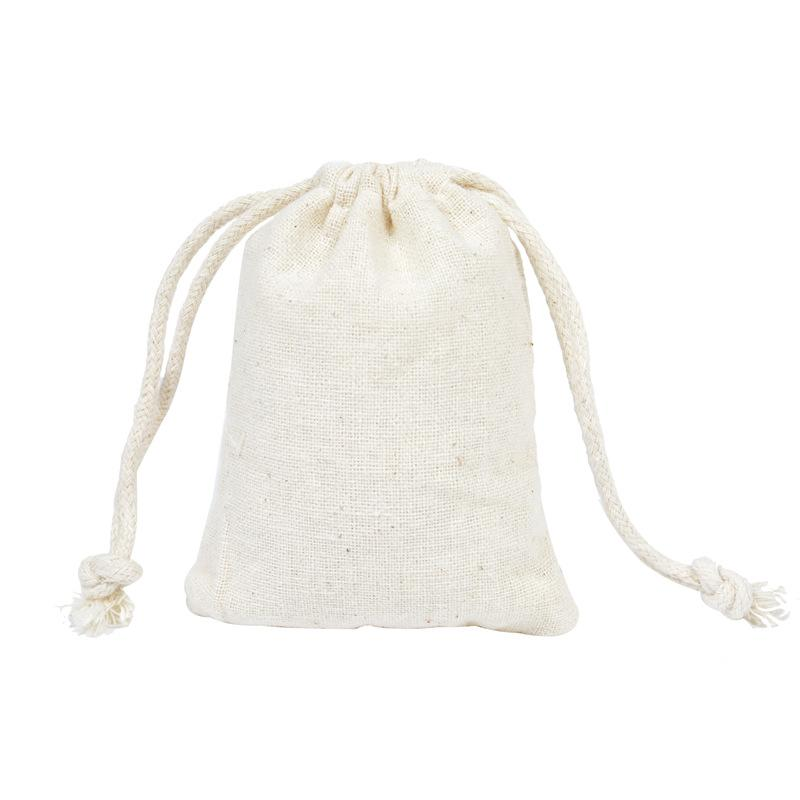 85df7b6a5 2019 Jewelry Bags 100% Natural Cotton Drawstring Gifts Bags Laundry Favor  Holder Fashion Jewelry Pouches Bags 7x9cm Party Favors Packing Pouch From  ...