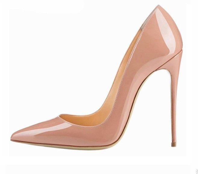 Nude Nuevas De Alto Bombas Mujeres Las Más Compre Tacón Zapatos CxBoerdW