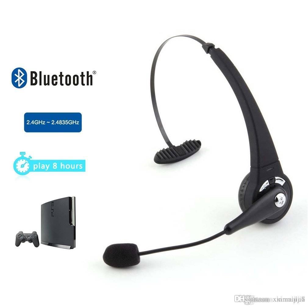 cf8df29d52ed8d Acquista Auricolare Bluetooth Con Cuffia Wireless Nera Con Microfono Sony PlayStation  3 PS3 A $13.48 Dal Xinmaijia7 | DHgate.Com