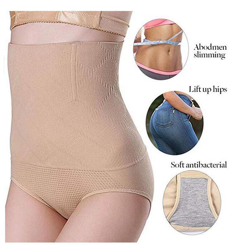 c7475992b 2019 Slimming Shapewear Women Seamless High Waist Stretching Tummy Control  Panty Panties Briefs Body Shapewear Lady Shaping Underwear From Hongxigua