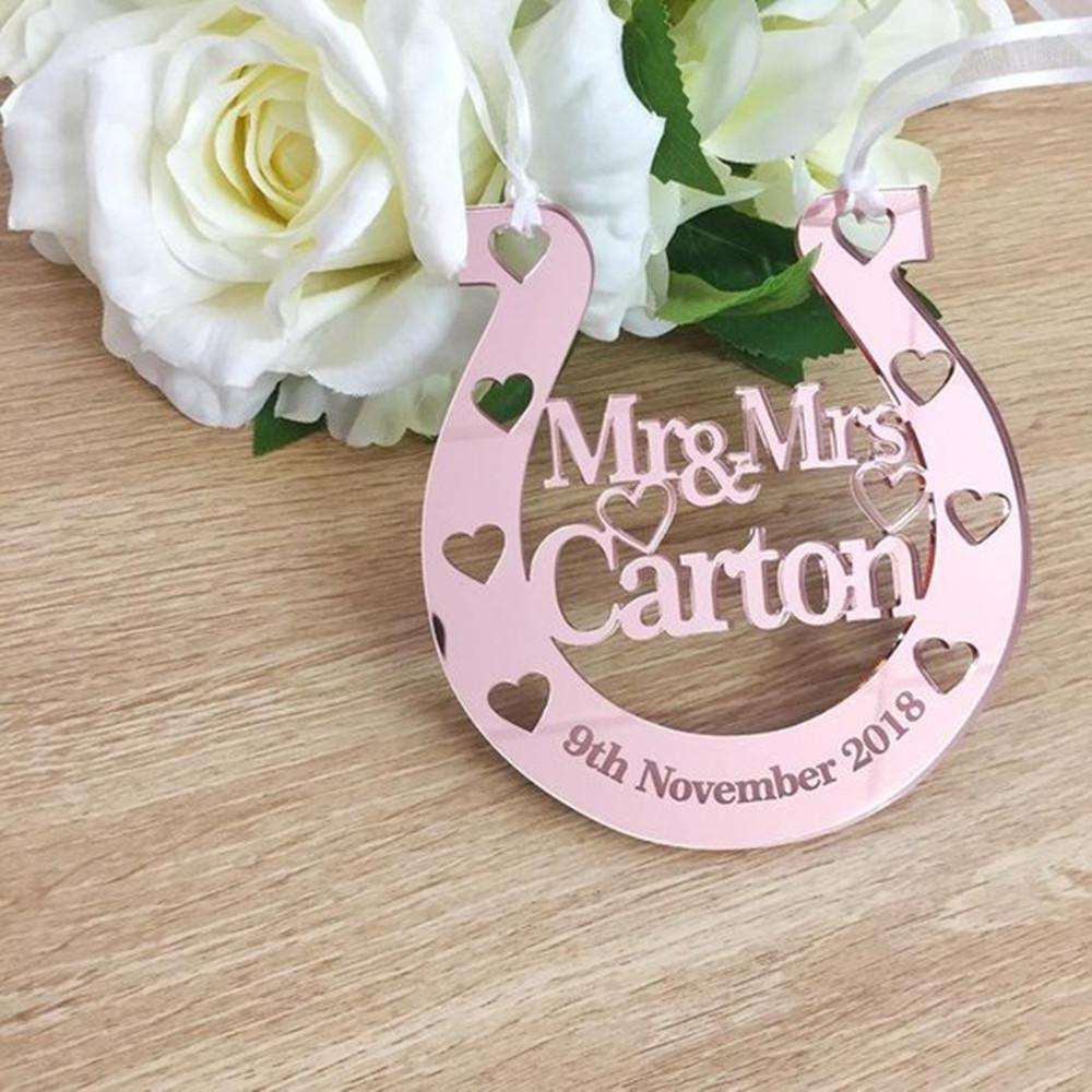 Personalized Mr Mrs Wedding Gifts Romantic Party Decoration Acrylic Custom Bride Groom Name And Date Party Favor Supplies Cheap Party Favors For Kids Cheap ...