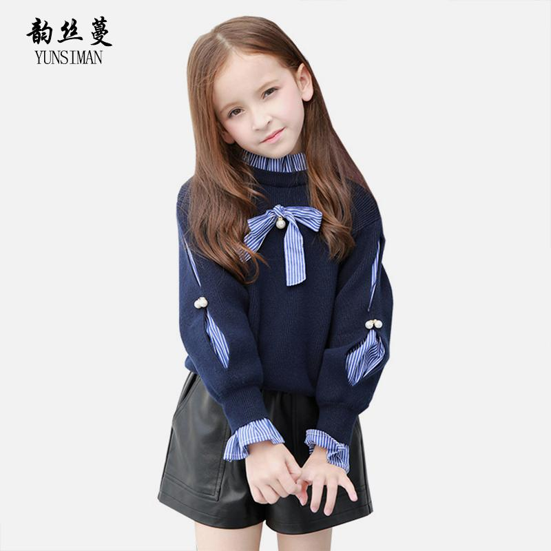 Kids Girls Sweaters For Autumn Winter Size 4 6 8 10 12 14 To 16 Y
