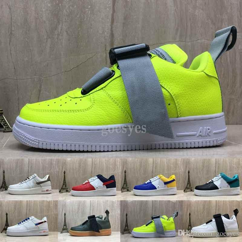 2019 New Chaussures 07 Lv8 Utility Premium Id One Running Skateboard Shoes For Men Air Mens Forces Trainers Sports 1 Skate Designer Sneakers