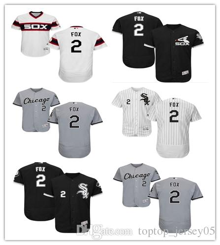5c3fd0393 2018 can Chicago White Sox Jerseys # 2 Nellie Fox Jerseys men#WOMEN#YOUTH#Men's  Baseball Jersey Majestic Stitched Professional sportswear