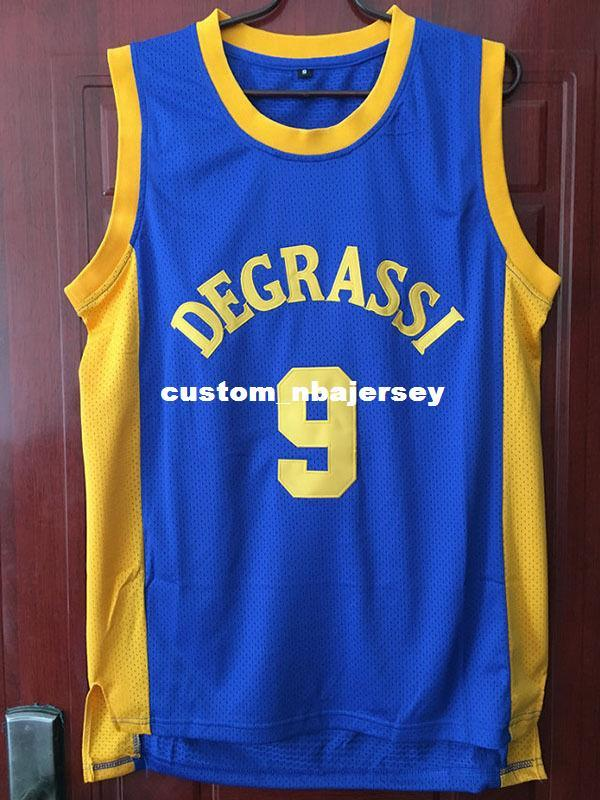 742ef55ef149 2019 Cheap Wholesale Jimmy Brooks Jersey 9 Degrassi Drake Jersey Community  School Customize Any Name Number MEN WOMEN YOUTH Basketball Jersey From ...