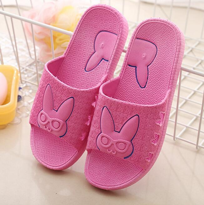 06bc7982df31 Summer Women S Bathroom Slippers Cute Candy Color Indoor Home Women Sandals  Ladies Beach Flip Flop Shoes Female Slides M520 Flat Shoes Biker Boots From  ...