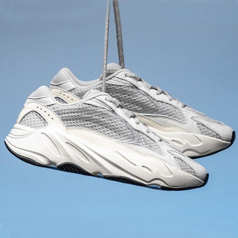 low priced 5b05f 48723 Acquista 2019 Wave Runner 700 V2 Statico In Esecuzione Grigio Solido Scarpe  Sportive Donna Uomo Sneakers Con Scatola A  118.8 Dal Rungingshoess    DHgate.Com