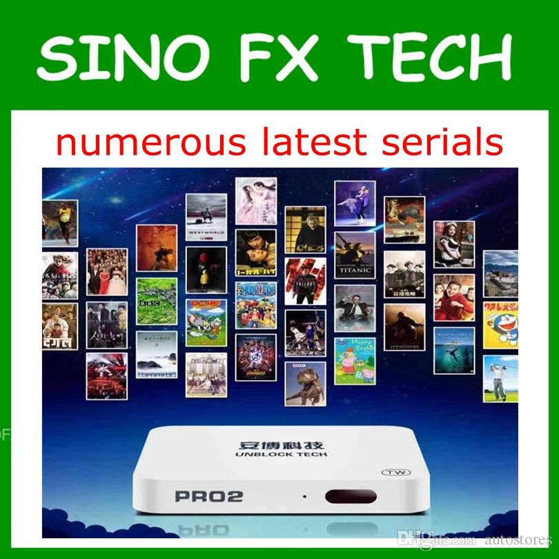 new version Unblock Tech UBOX PRO2 OS gen6 Android 7 0 TV box Bluetooth  lifetime free IPTV for JP SG NZ KR MY AU CA US HK ID enjoy world cup