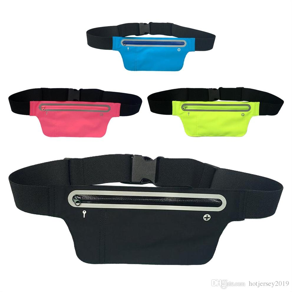 38b2ab21d163 New Unisex Multifunction Cycling Running Hip Money Belt Waist Bag Pack Men  Women Waterproof Phone Bag Outdoor Sports Gym Bags #273535
