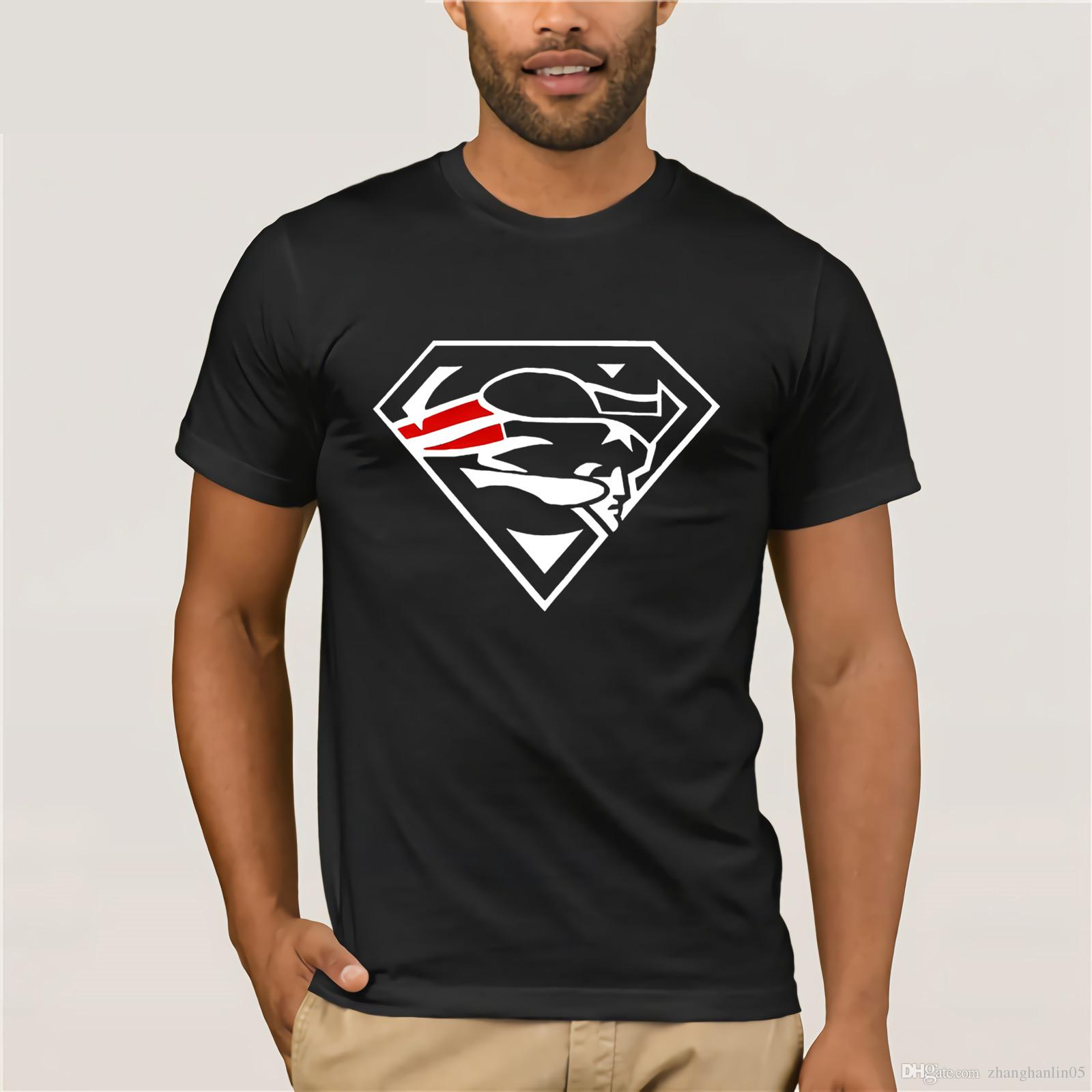 Super Patriots Fan Blue T Shirt Superman New England Pats Fans All Sizes S  3XL Top Quality Cotton Casual Men T Shirts Men Free Crazy Tshirts Buy  Tshirt From ... 390bfe6dd