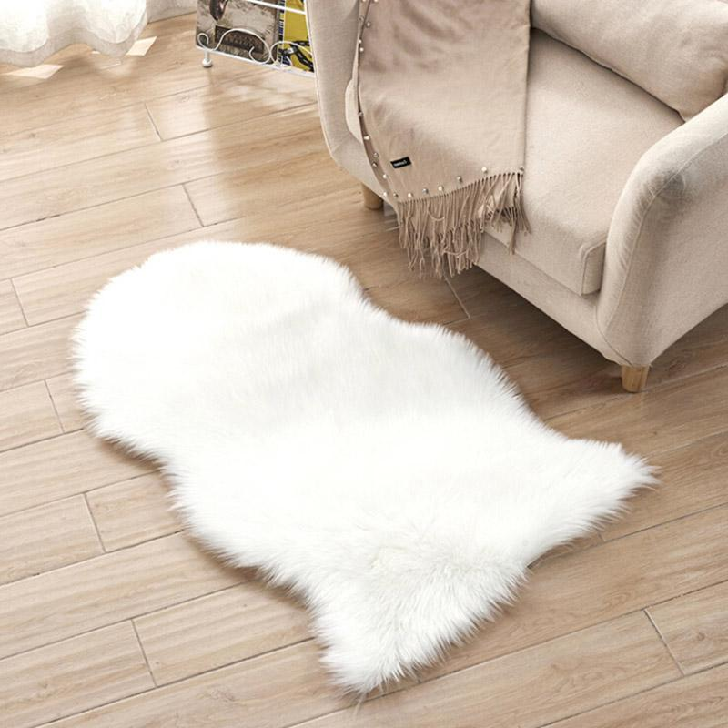 Phenomenal Fur Artificial Sheepskin Hairy Carpet For Living Room Bedroom Rugs Skin Fur Plain Fluffy Area Rugs Washable Bedroom Faux Mat New Interior Design Ideas Oteneahmetsinanyavuzinfo