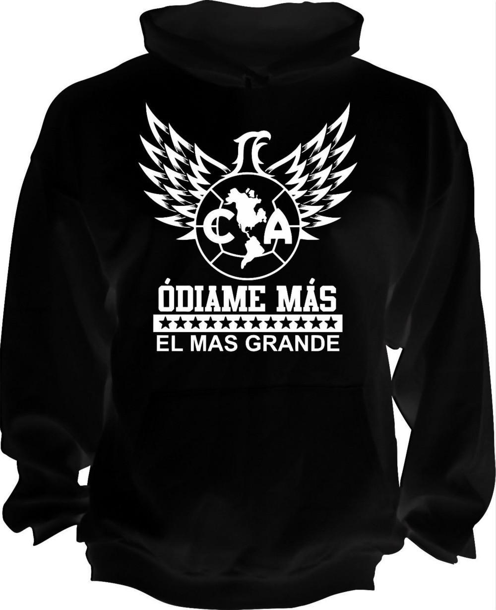 04cbe6741c1 2019 Club America Mexico Aguilas Camiseta Hoodie Odiame Mas El Mas Grande  Handmade From Tigerball, $18.28 | DHgate.Com