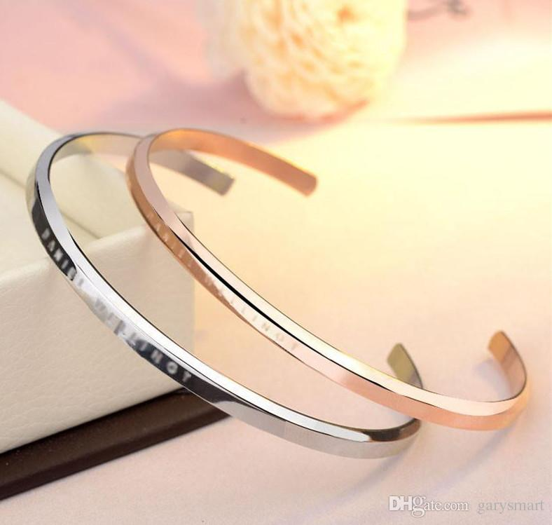 New DW Bracelets Cuff with Original box Rose Gold Silver Bangle All Stainless steel Bracelet Women and Mens Bracelet Jewelry set