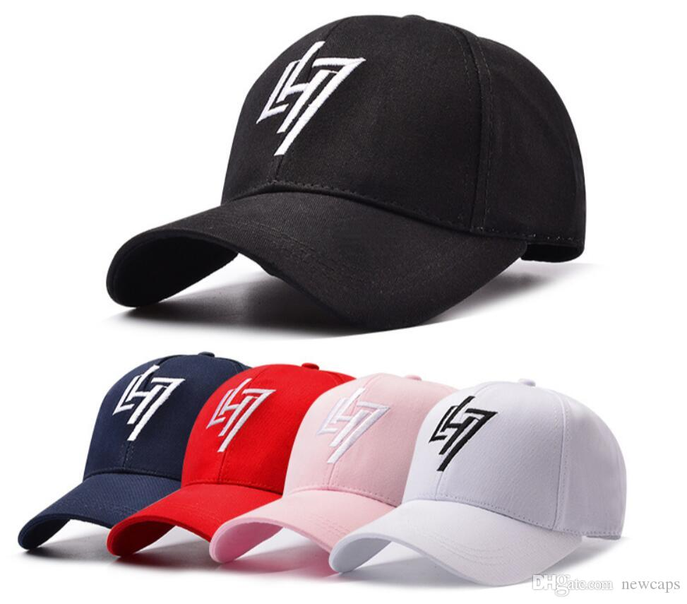 8b6916fc3117d LH7 Letter Embroidery Brand Baseball Cap Snapback Caps Sports ...