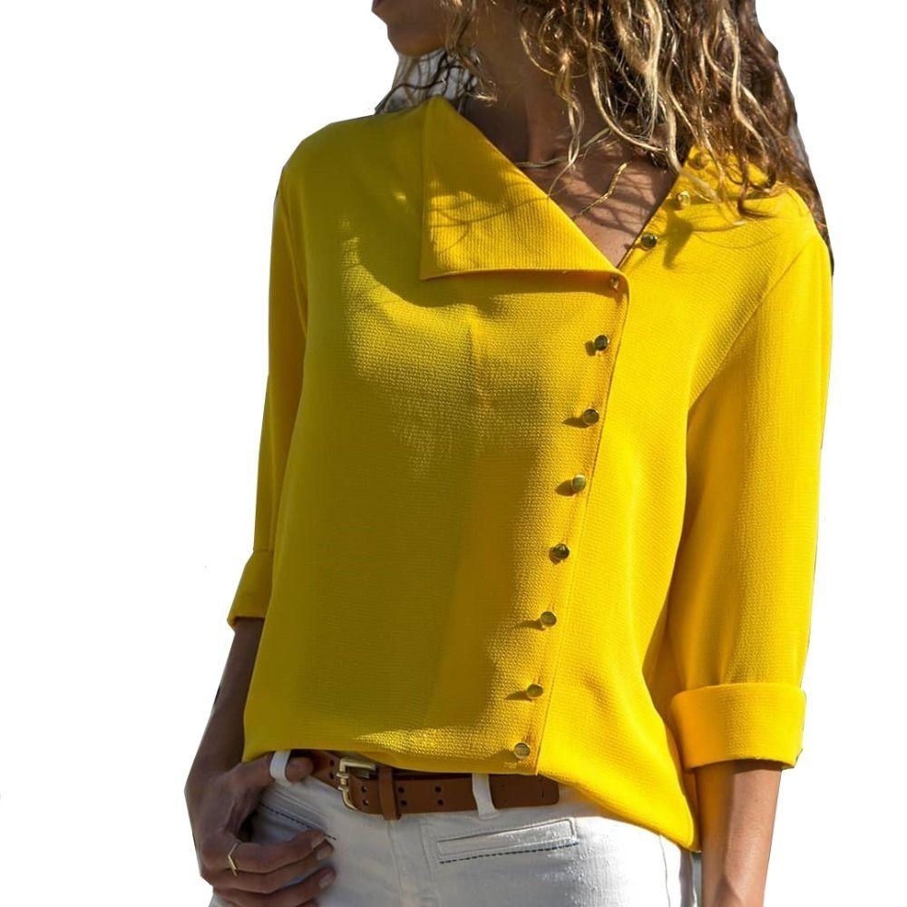 73a988d645f8e8 Compre Blusa Para Mujer Camisa De Manga Larga Moda Coreana Nueva Llegada  Otoño Otoño Oficina Blusas Para Mujer Trabajo Blusa Negra Top Femenina A  $20.9 Del ...
