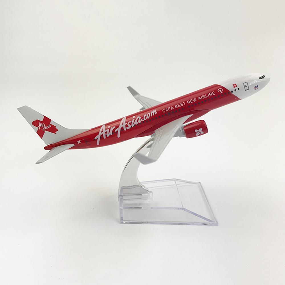 2019 1 400 scale aircraft boeing 737 air asia 16cm alloy plane b737 rh dhgate com
