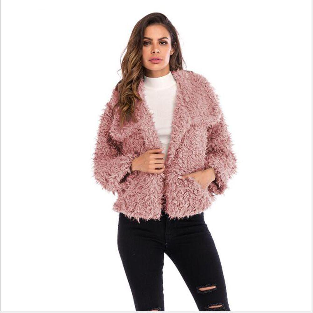 f6d19e1d1aa Women'S Jackets Winter Coat Women Cardigans Ladies Warm Jumper Fleece Faux  Fur Coat Hoodie Outwear Blouson Femme S 3XL Avirex Leather Jackets Nice  Jackets ...