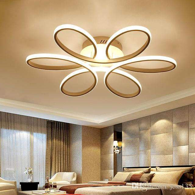 JESS Luces de techo modernas Luminarias LED Interior Hogar Cocina  Accesorios de lámpara para comedor Sala de estar Iluminación de dormitorio  Lampara ...