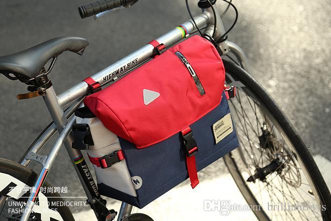 The hottest brand recommended men's dead fly messenger bag Outdoor riding messenger bag Sports and leisure shoulder bag