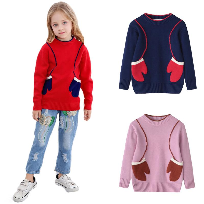 a413a1508585 AiLe Rabbit New Autumn Winter Children S Wear Long Sleeve Sweater Girls  Soft Warm Fashion INS New Year Apparel Gloves Cardigans For Little Girls  Toddler Red ...