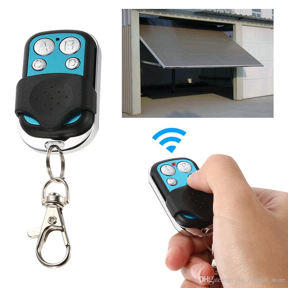 433MHz Universal Wireless Remote Control Switch Receiver RF 4 Button Duplicator Copy Code Cloning Key for Car Gate Garage Door