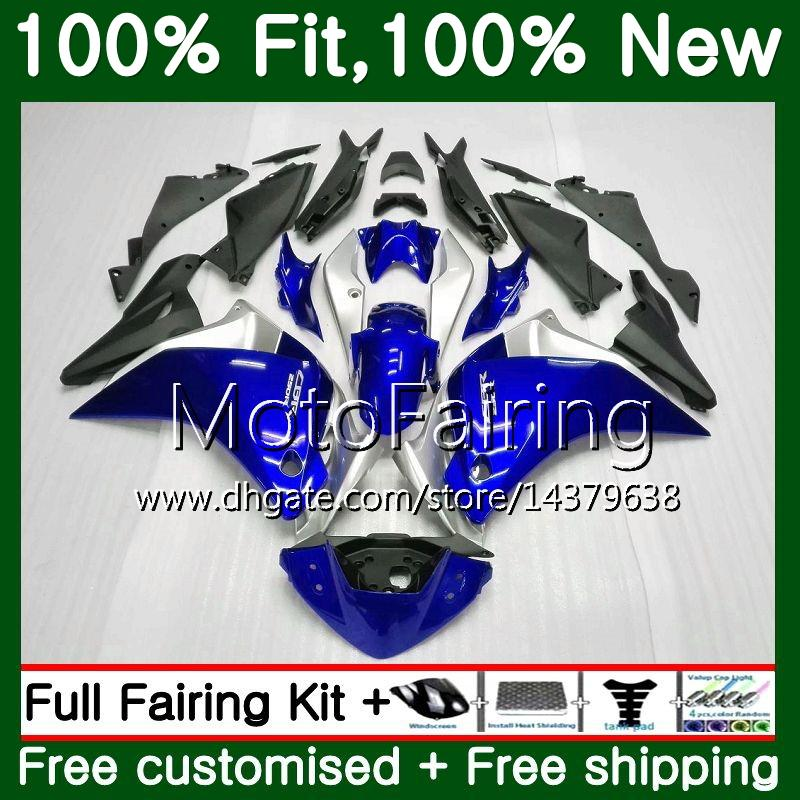Iniezione per HONDA CBR300R CBR250R MC41 11 12 13 14 15 75MF8 CBR250 R CBR 250R 250 R 2011 2012 2013 2014 2015 Hot blu Carena Carenatura