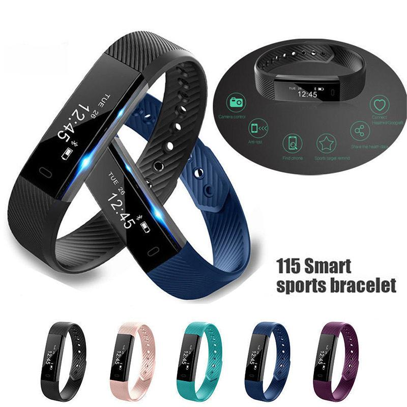 2018 Outdoor Pedometer Fitness Tracker Digital Oled Running Walking